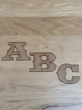 Wooden Letters Large Small 2cm-30cm 3mm Thick MDF Craft Extra Large Signs 2