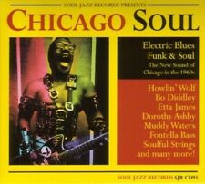 SOUL JAZZ RECORDS PRESENTS/CHICAGO SOUL 2 VINYL LP NEU
