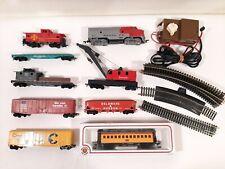 Bachmann HO Scale Santa Fe Train Set with Track And Transformer