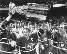 YVAN COURNOYER GUY LAFLEUR Y LAMBERT 8X10 PHOTO MONTREAL CANADIENS PICTURE NHL