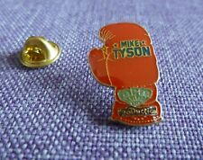MIKE TYSON BOXING MPM PRODUCTION RARE VINTAGE PIN'S