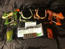 Tiger Lazer Tag Team Ops Deluxe 2-Player System with 2 Guns/Huds/Extras - Tested