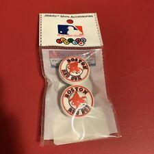 BOSTON RED SOX MLB Circles JIBBITZ 2PC BASEBALL COLLECTABLE