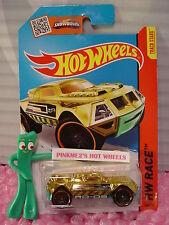 Case H/J/L 2015 i Hot Wheels RD-08 #158∞Gold;Green∞Race Team∞Super Chromes