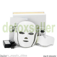 2017 Facial Neck Mask 192 LED Photon Lights Photodynamic PDT Skin Rejuvenation
