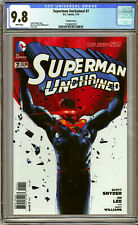 SUPERMAN UNCHAINED #7 CGC 9.8 NM/M JOCK Variant Cover