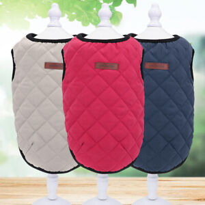 Dog Warm Vest Jumper Puppy Winter Clothes Coat Jecket for Small Medium Large