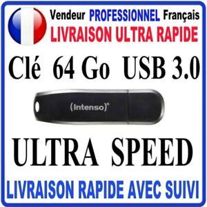 Clé USB 64 Go USB 3.0 SPEED LINE INTENSO