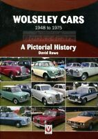 WOLSELEY CAR BOOK ROWE PICTORIAL HISTORY