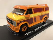 GMC Vandura Custom Orange 1983 Greenlight 86327 1:43 Scale