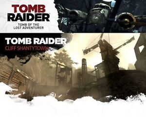 Tomb Raider: Shanty Town Map & tomb of The Lost Adventurer DLC Pack [PS3] NEW