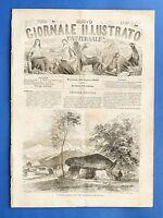 Nuovo Giornale Illustrato - Il sasso delle fate, Savona - Anno II - N° 30 - 1869