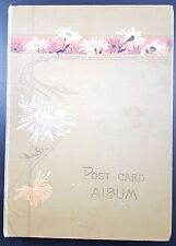 Vintage Tuck Postcard Album, 112 Cards, Much Poole & Bournemouth Most pre 1930