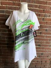 CHASE AUTHENTIC NASCAR TEE SHIRT XL BRAND NEW NWT DANICA PATRICK 10 GREEN WHITE
