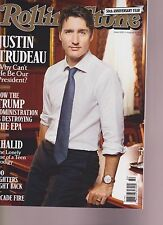 ROLLING STONE MAGAZINE #1293 AUG 2017, JUSTIN TRUDEAU,NO LABEL NEWSSTAND EDITION