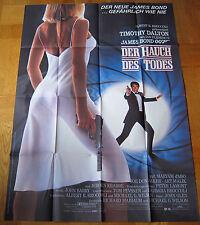 HAUCH DES TODES - JAMES BOND 007 (A0-Kinoplakat  '87) - TIMOTHY DALTON