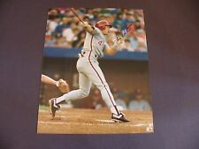 Lenny Dykstra - 8X10 Autographed Photo - Philadelphia Phillies