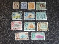CYPRUS POSTAGE STAMPS SG173-184 UN-MOUNTED MINT