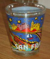 SAN FRANCISCO CA souvenir shot glass