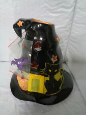 Partylite - Halloween - Spooky Witch Hat Tealight Candle House - #P9959 - New