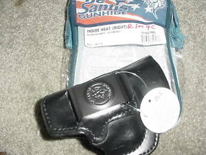 Ruger Security 9 Compact Inside Heat 127 Leather IWB Right Draw