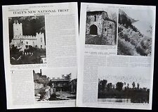 FONDO AMBIENTE ITALIANO FAI NATIONAL TRUST ITALY AVIO CASTLE ETC ARTICLE 1978