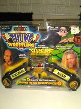 WCW Electronic Thumb Wrestling game Goldberg vs. Nash  NEW, NEVER OPENED