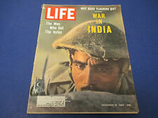 Life Magazine , November 16,1962 Why Good Teachers Quit War In India