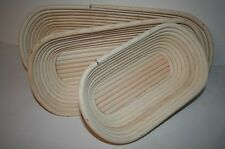 Gärkorb gärkörbe Bread Form peddigrohr 0,5 - 1,5kg Oval Professional Quality made in DE