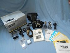 Nikon D100 6.1 MP Digital SLR Body Original Packaging with Charger & Cords