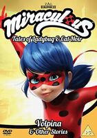 Miraculous: Tales of Ladybug and Cat Noir Volpina and Other Stories Vol 4 [DVD]