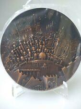 Medaille-en-bronze-de-la-Monnaie-de-Paris-Therese Dufresne- Jerusalem-
