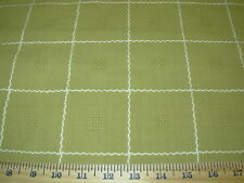 ~2 2/8 YDS~STROHEIM&ROMANN~PICNIC~COTTON EMBROIDERED UPHOLSTERY FABRIC FOR LESS~