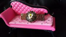 Crystals & LION HEAD Betsey J. JEWELRY Barrette Cooper ROAR!