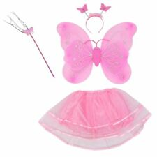 4Pcs Fairy Princess butterfly angel wings costume party dress birthday presen CQ