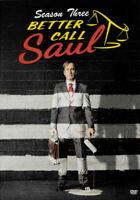 Better Call Saul: Season Three (DVD, 2018) NEW Sealed