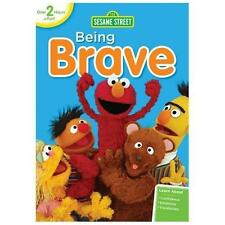SESAME STREET : BEING BRAVE DVD - Elmo - for Kids - WORLDWIDE SHIPPING AVAILABLE