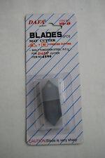 PK 5 SPARE BLADES USE WITH DAFA JAKAR BI-DIRECTIONAL MOUNT BOARD CUTTER CUTTING
