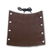 TRADITIONAL LEATHER ARM GUARD AG208 BROWN
