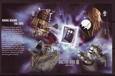 GREAT BRITAIN 2013 DOCTOR WHO BOOKLET MINIATURE SHEET FINE USED