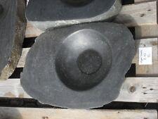 Becken aus poliertem Granit - Granittrog Vogeltränke Bachlauf Waschbecken - B122