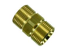 Schlauchverbinder Adapter Nippel Verlängerung Messing M21 - M22 AG Kupplung