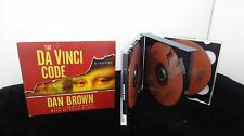 THE DA VINCI CODE by Dan Brown (2006, ABRIDGED, Audiobooks on CDs)