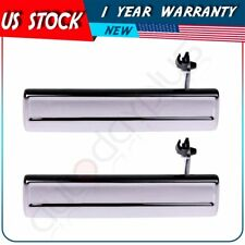 Pair Chrome Door Handle Front Rear Left LH for Pontiac Buick Chevy Olds Outside