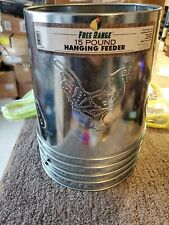 Harris Farms Galvanized Hanging Poultry Feeder 15 Pounds 1000293