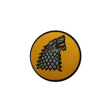 New Embroidered House Stark Sew on/Iron on Patch Game Of Thrones Uk Seller