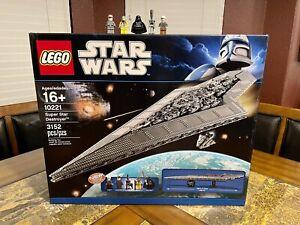 LEGO STAR WARS 10221 SUPER STAR DESTROYER UCS SERIES VERY RARE!