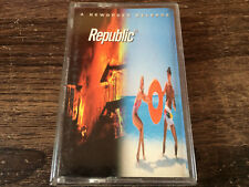 NEW ORDER - Republic CASSETTE TAPE / Made In PHILIPPINES