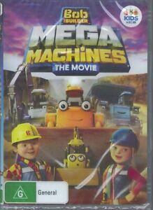 MEGA MACHINES The Movie ABC R4 DVD Bob The Builder NEW & SEALED Free Post
