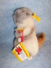 """Animals from Steiff- 5"""" Piff Groundhog (Murmeltier) No. 2205/12, Austria"""